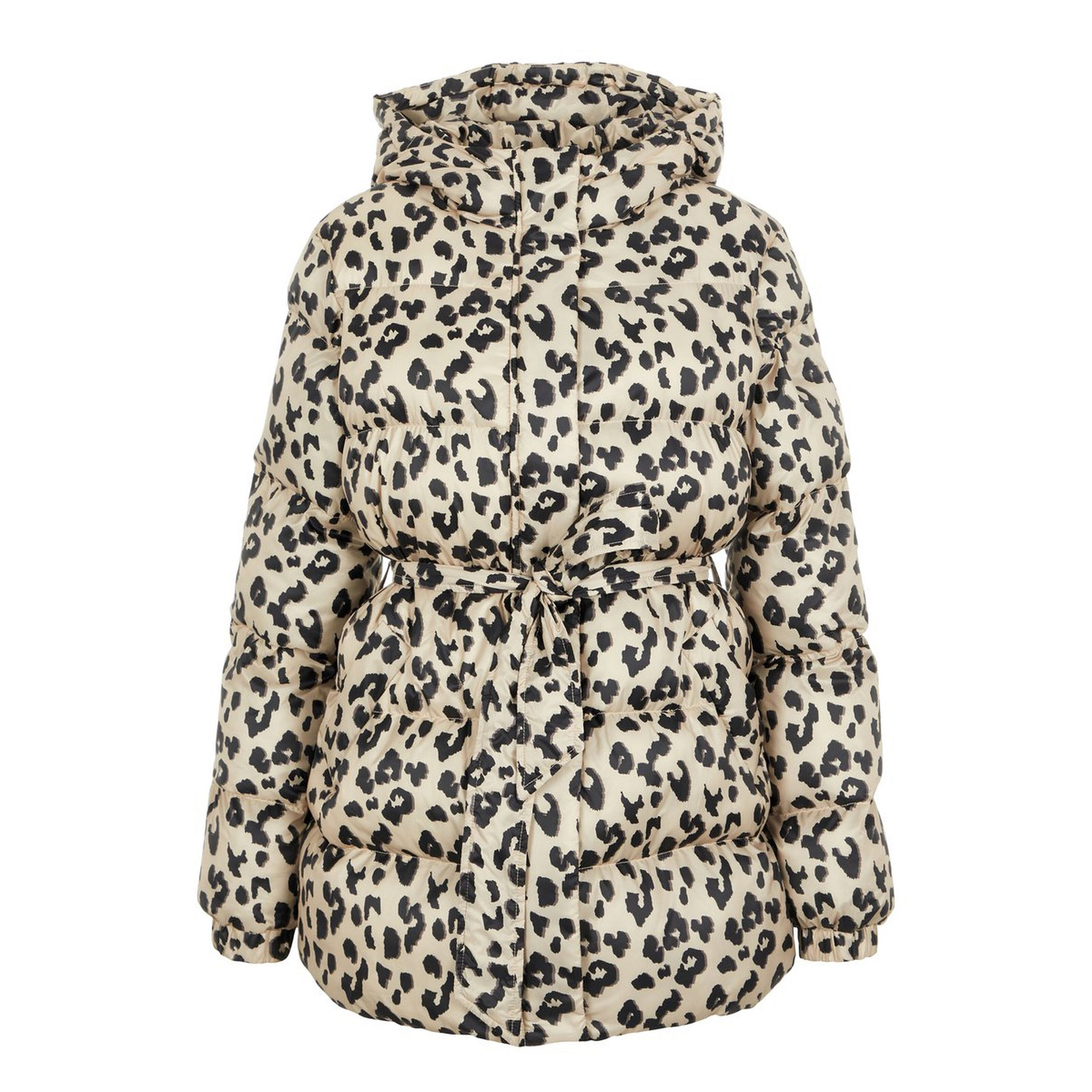 SALE Emma Leopard Print Hooded Jacket was £65.00