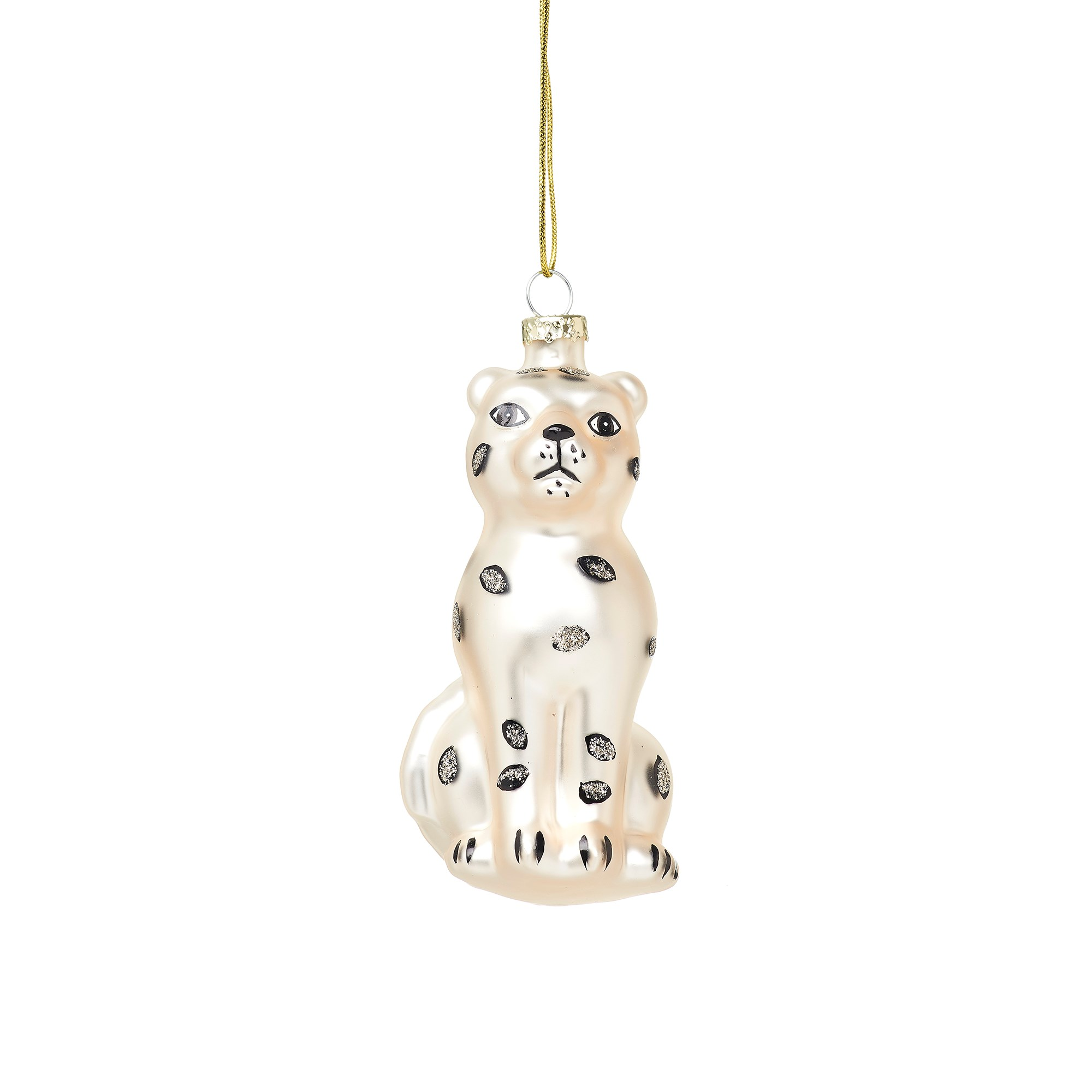 Snow Leopard Bauble