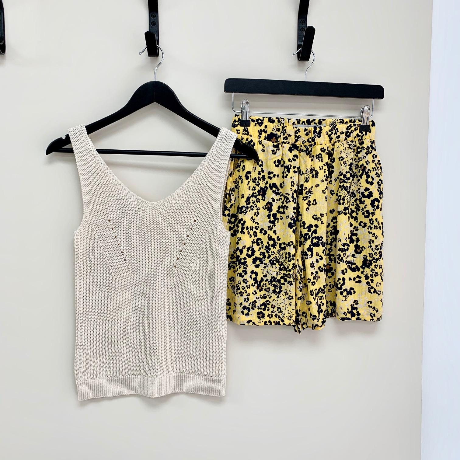 SALE Marrakech Yellow Shorts