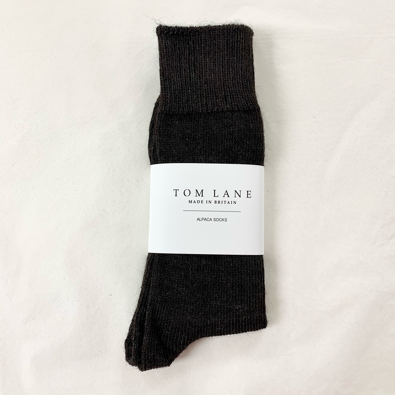 Unisex Alpaca Socks Charcoal
