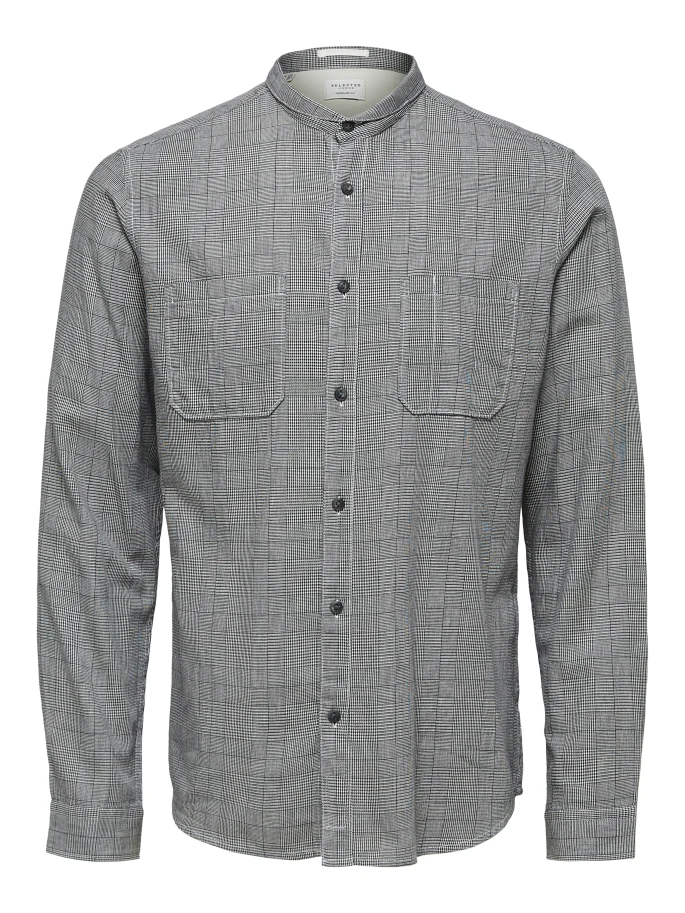 SALE Cameron Regular Fit Shirt Black Check