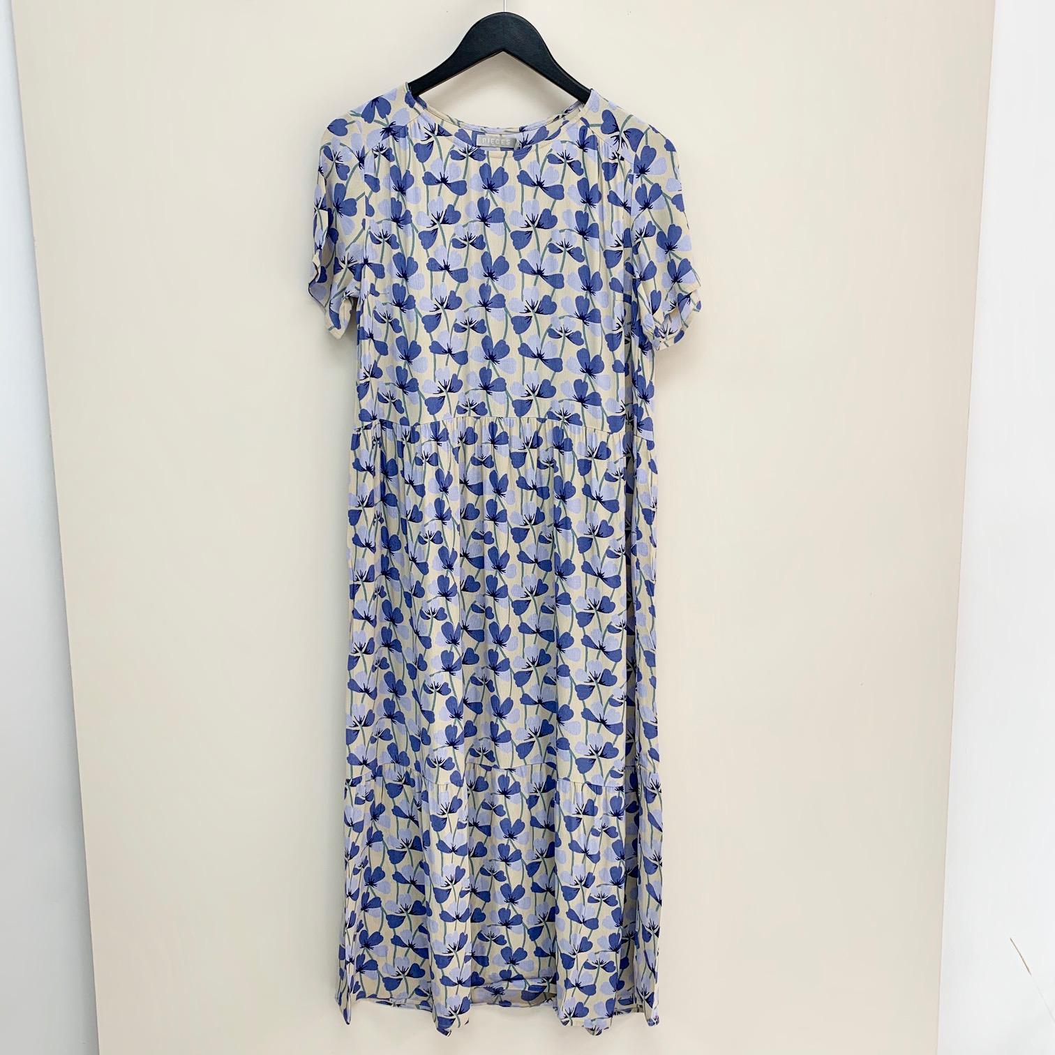 Viva Blue Floral Dress