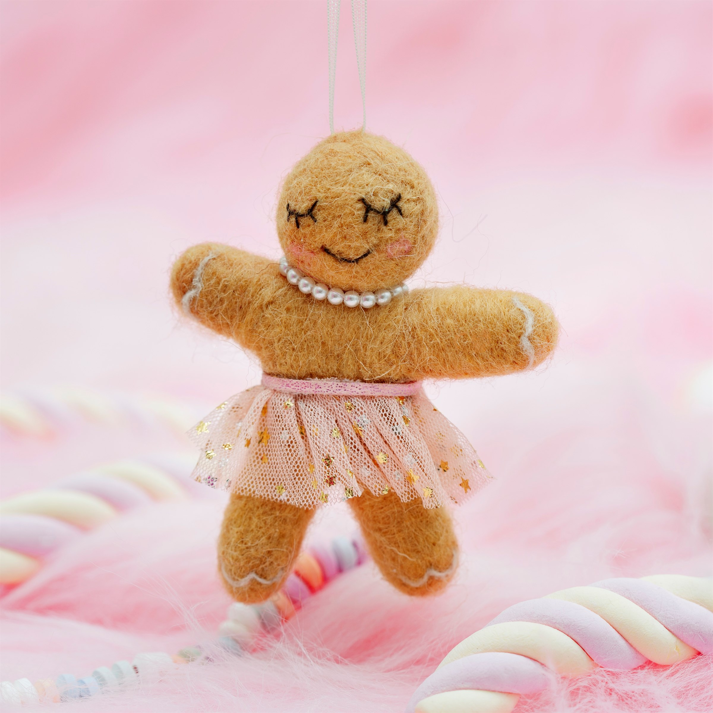 Gingerbread Girl in Tutu