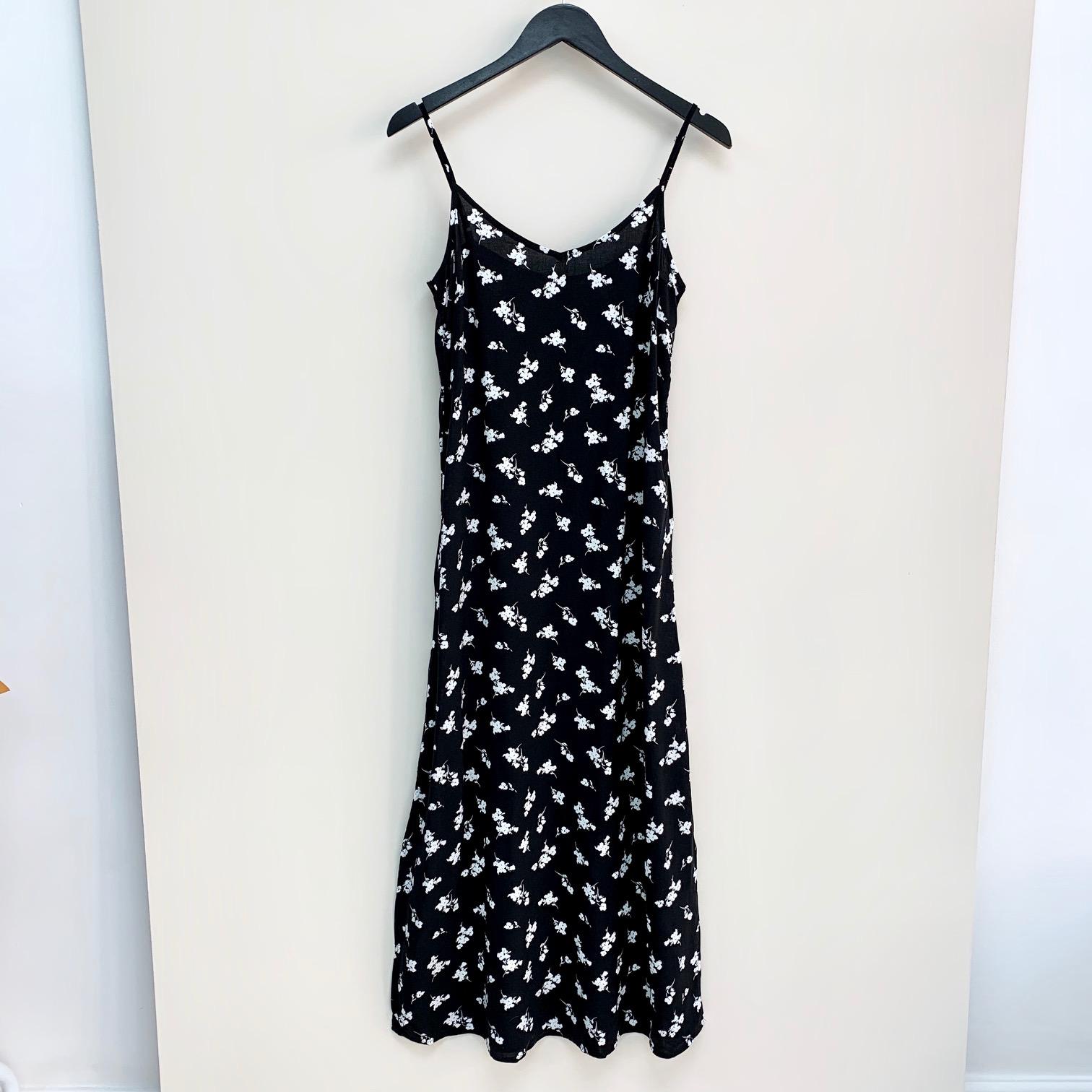 Isole Black Long Dress