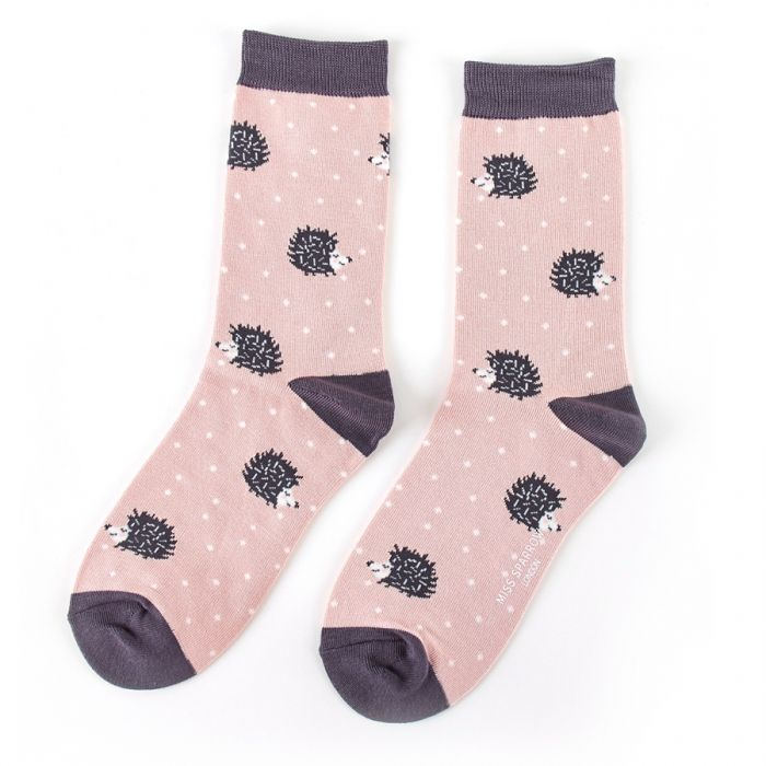 Sleepy Hedgehog Socks