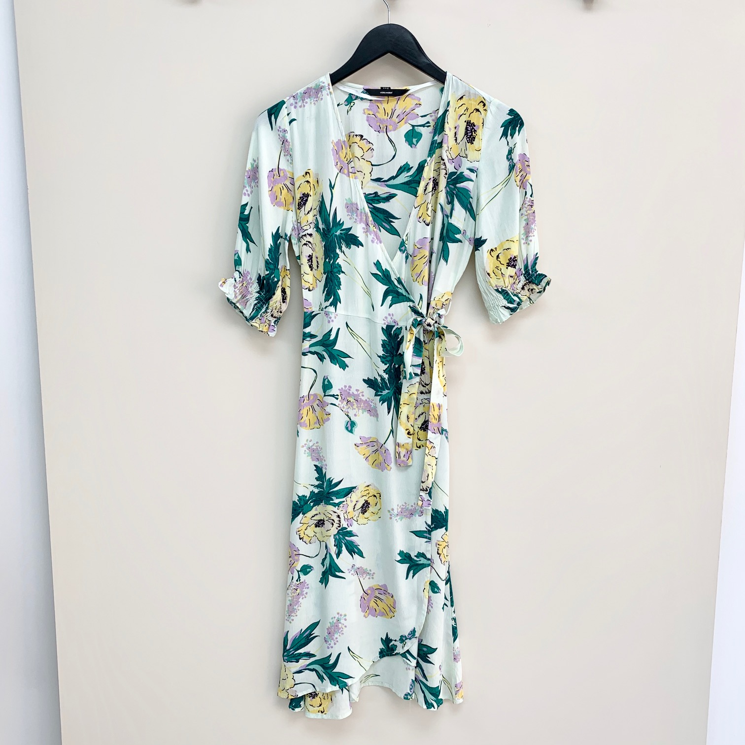 SALE Oline Floral Wrap Dress