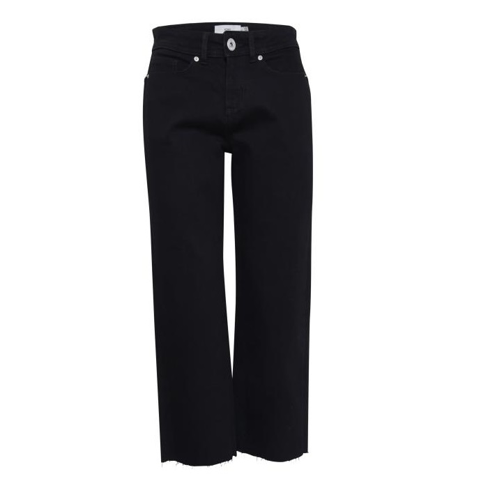 SALE Gulla cropped jean black
