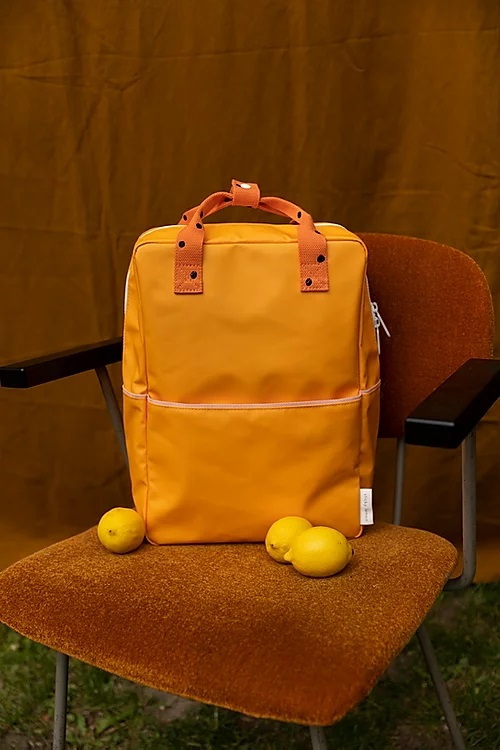 Sticky Lemon Backpack Bright Orange