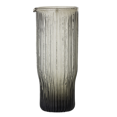 Ronja Grey Glass Decanter