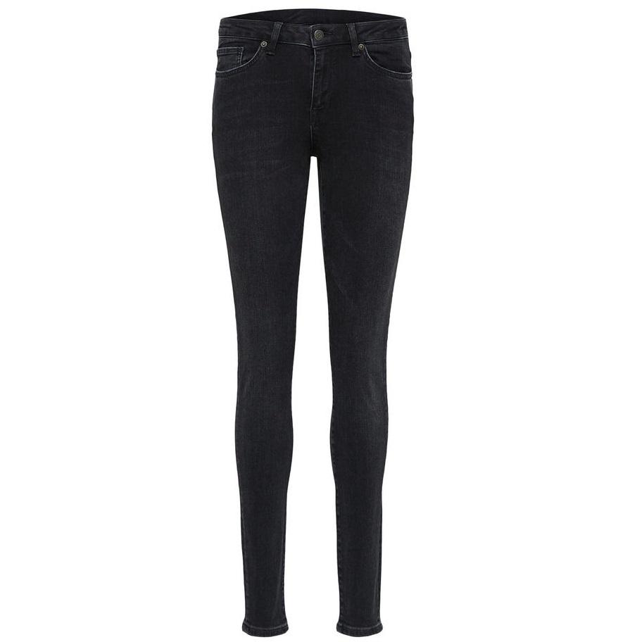 SALE Ida mid waist skinny black wash jean was £70.00