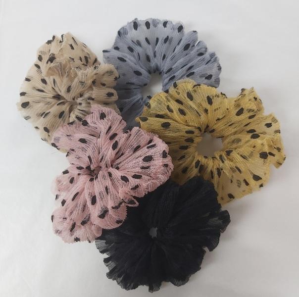 Andrea mesh scrunchie