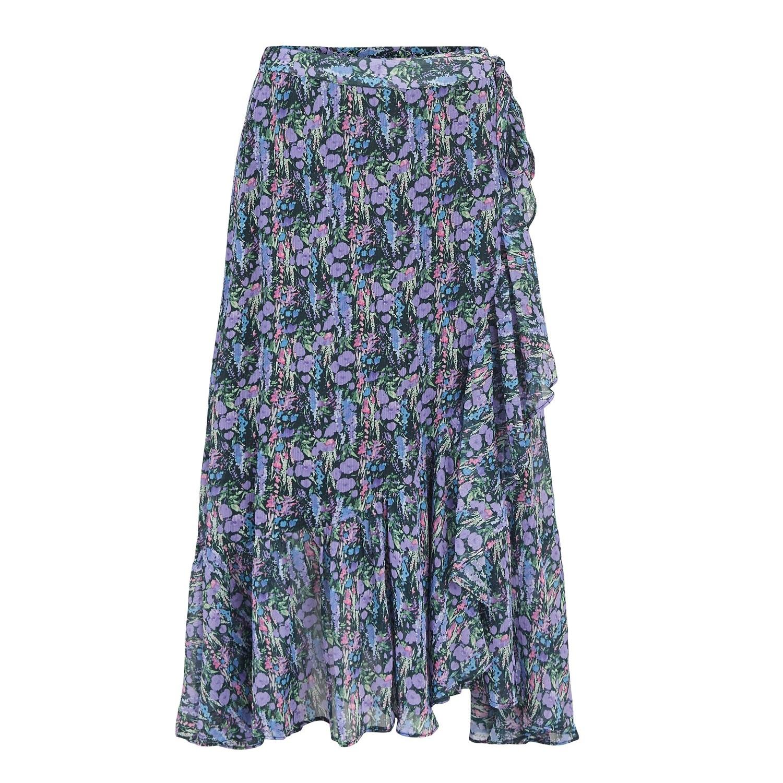 SAlE Esmeralda Floral Wrap Midi Skirt was £55.00