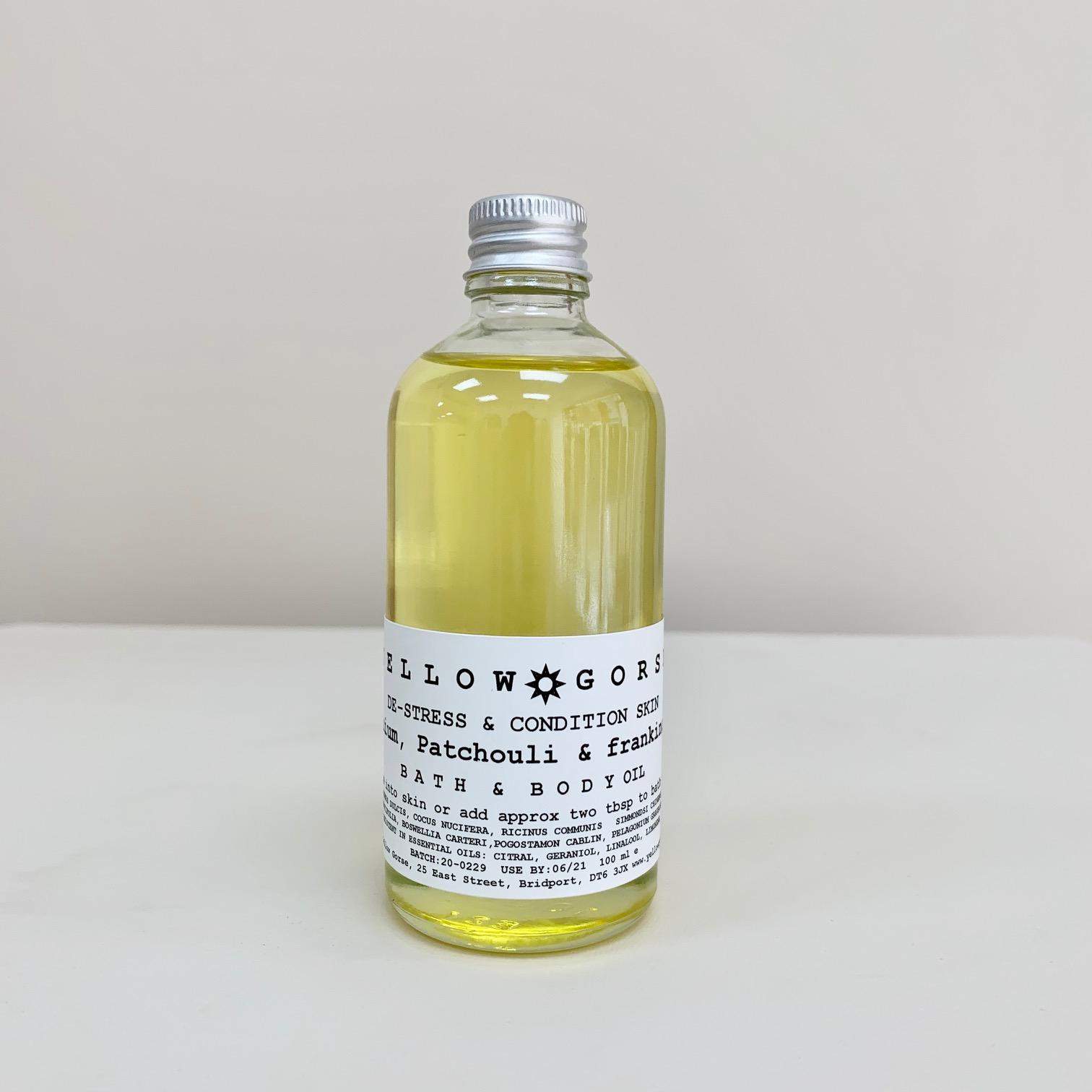 De Stress Bath and Body Oil 100ml