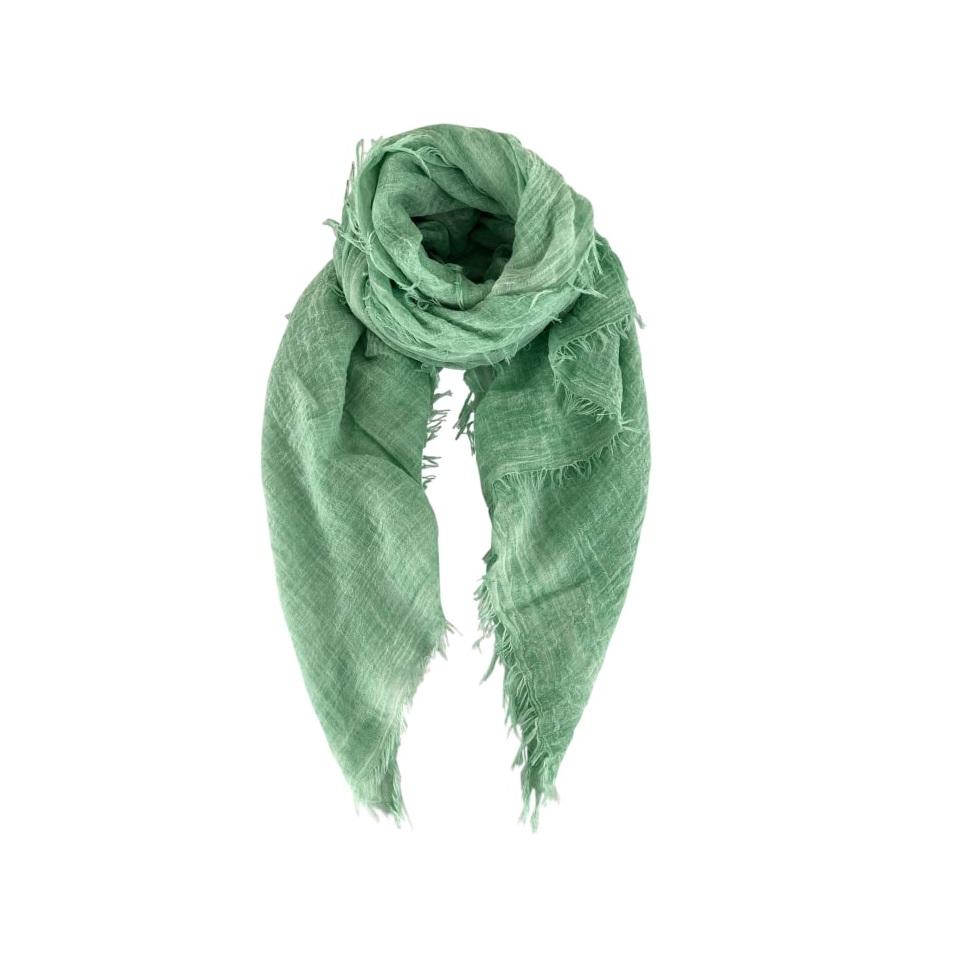 Taya scarf green