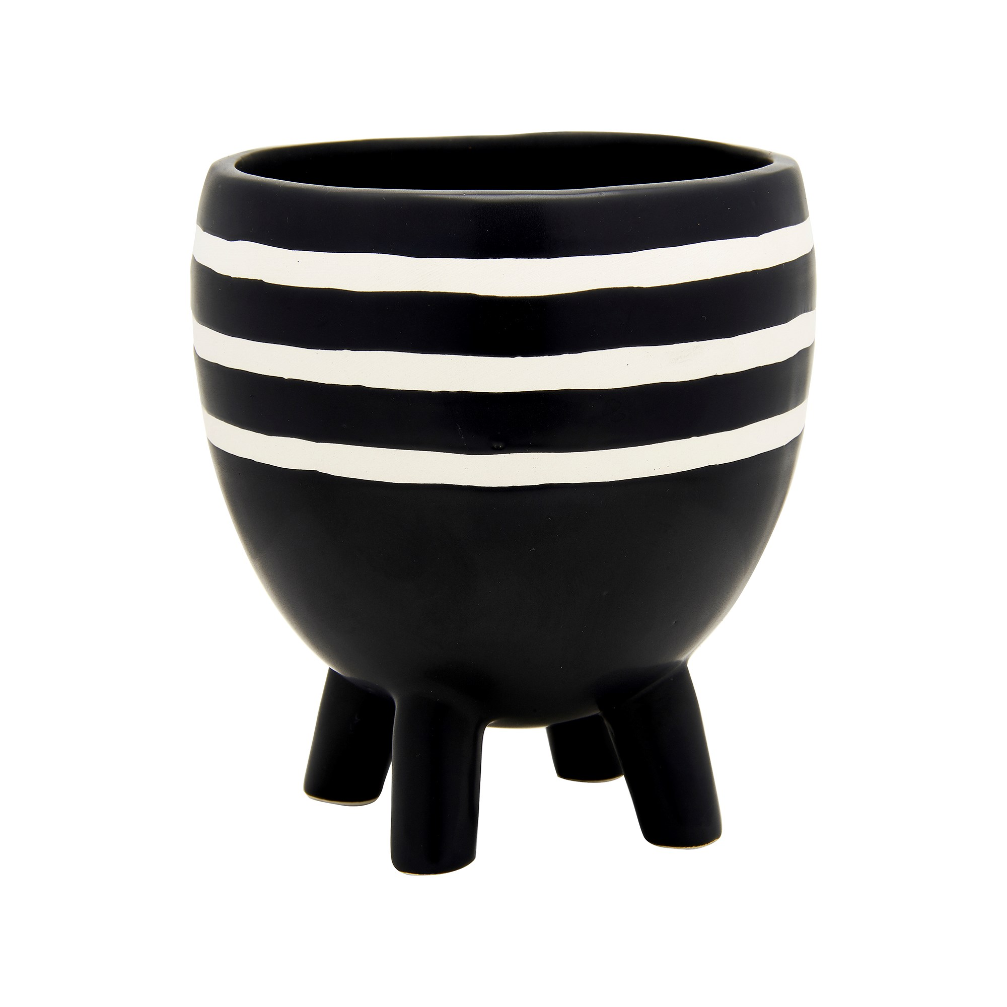 Striped Leggy Planter