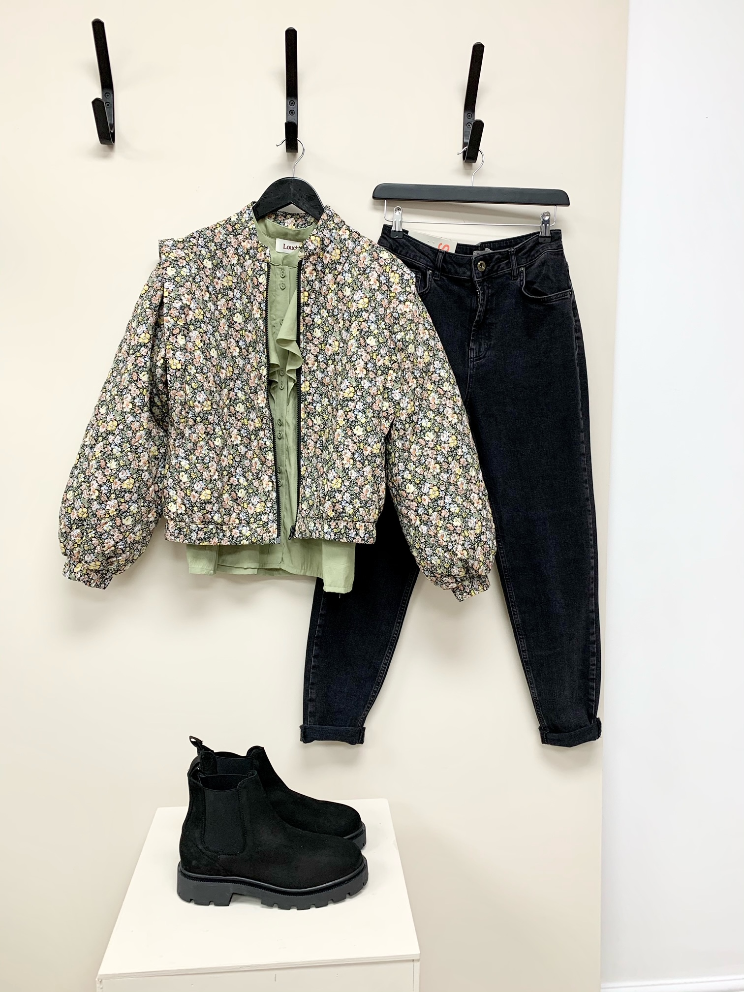 Yetta Quilted Bomber Jacket
