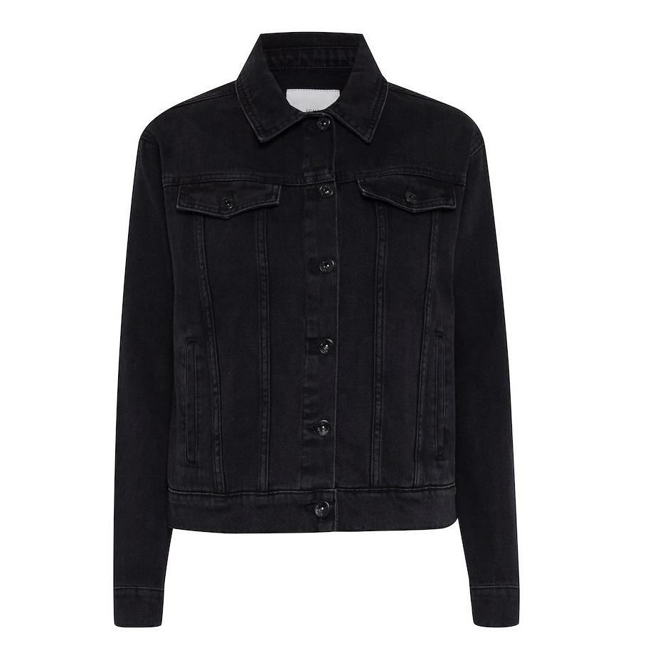 Gulip Denim Jacket Washed Black