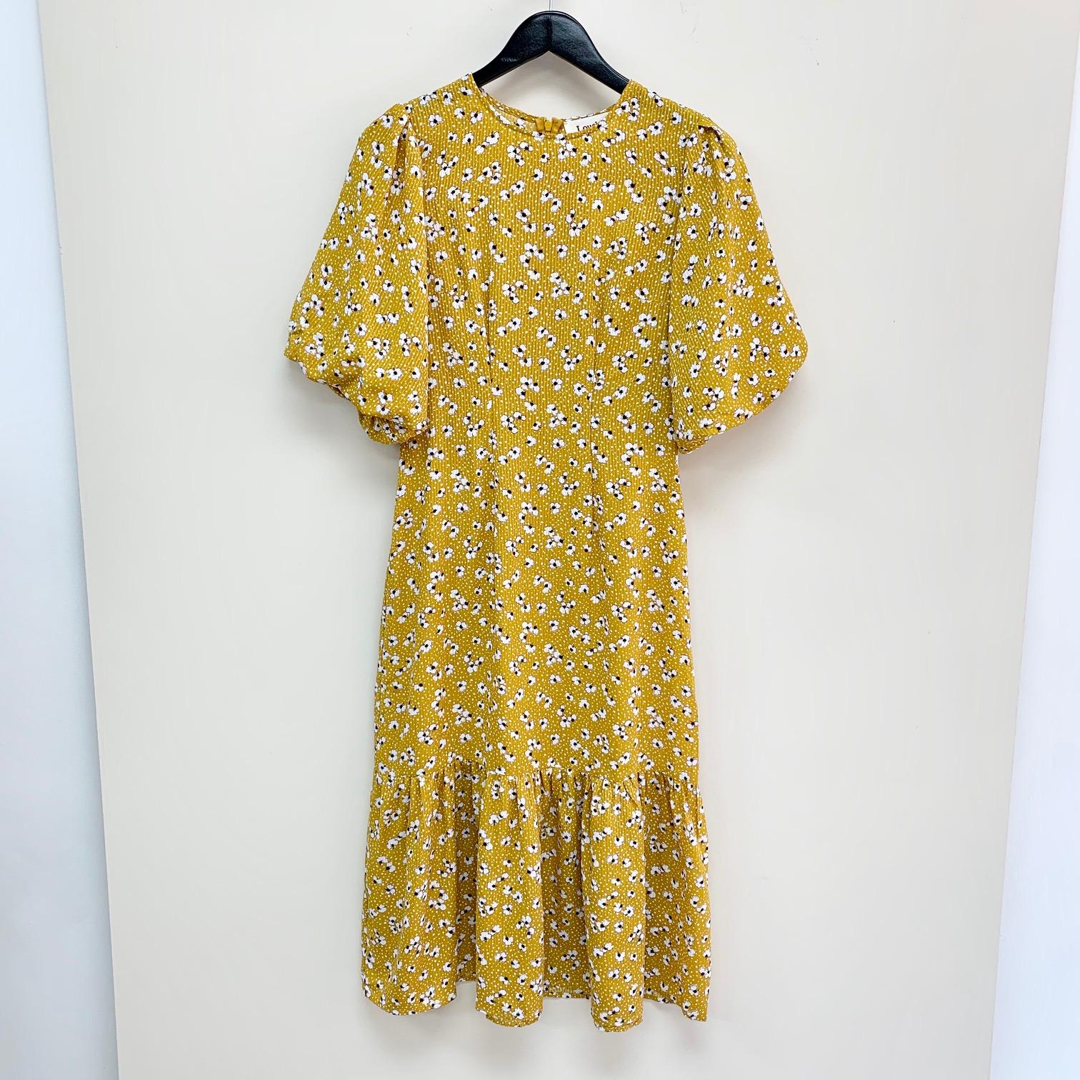 Zeyneb Petal Dot Dress