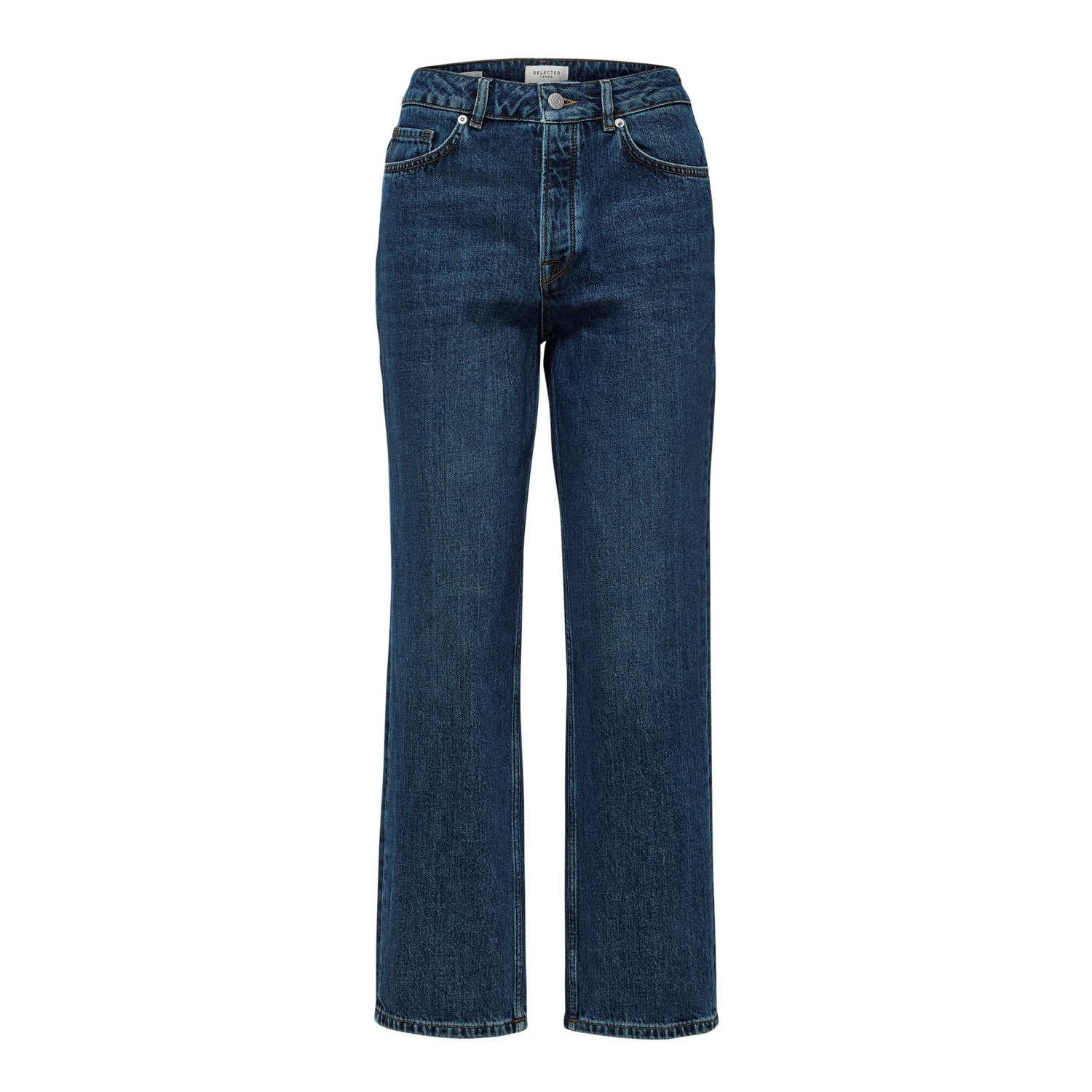 SALE Kate High Waist Straight Inky Blue Jean