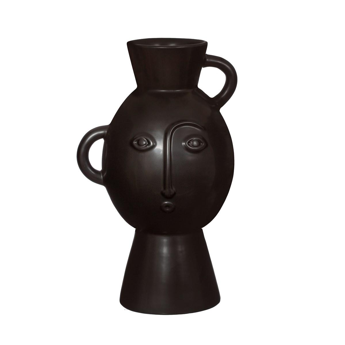 Amira Face Vase Matt Back