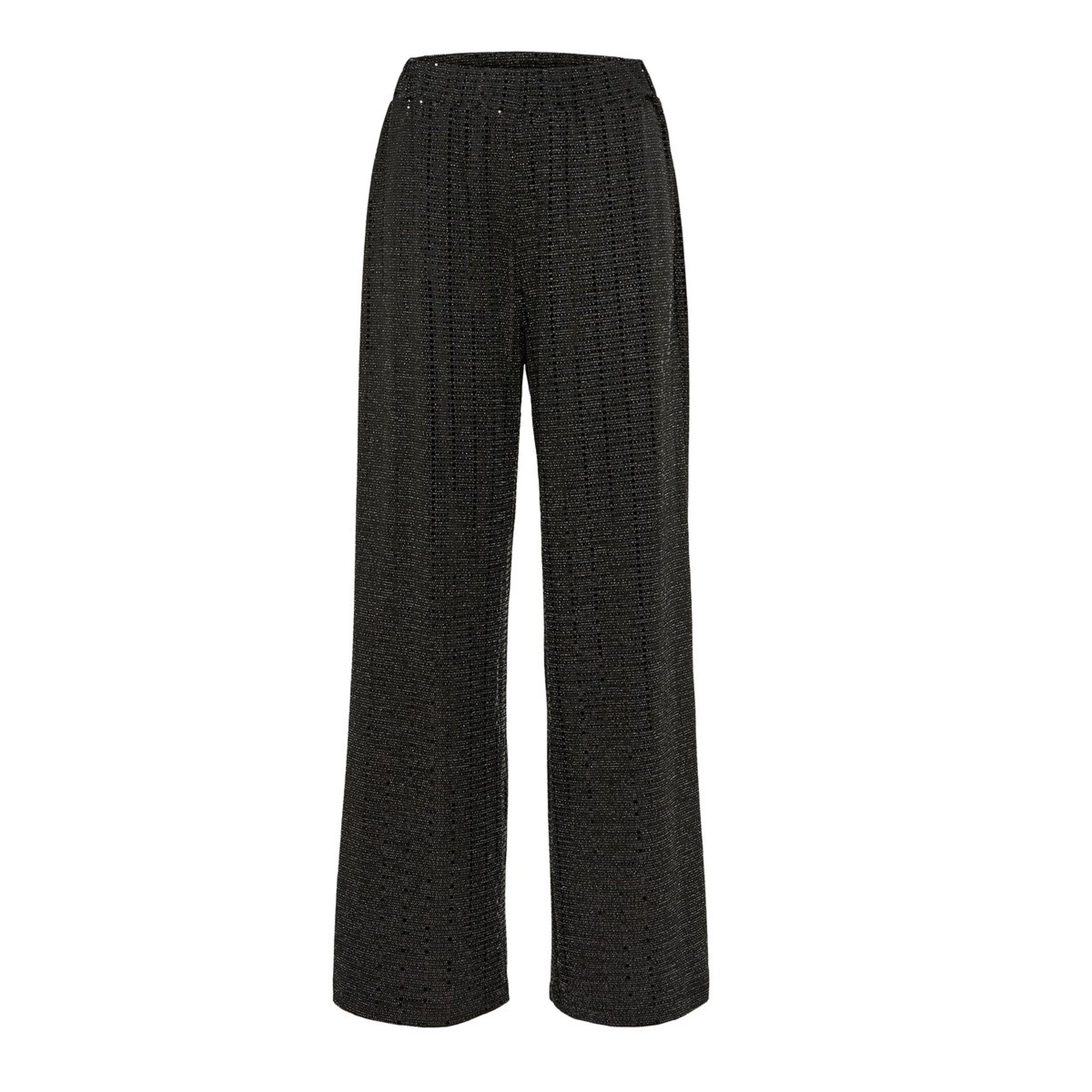 Sandra Wide Leg Sparkly Trousers