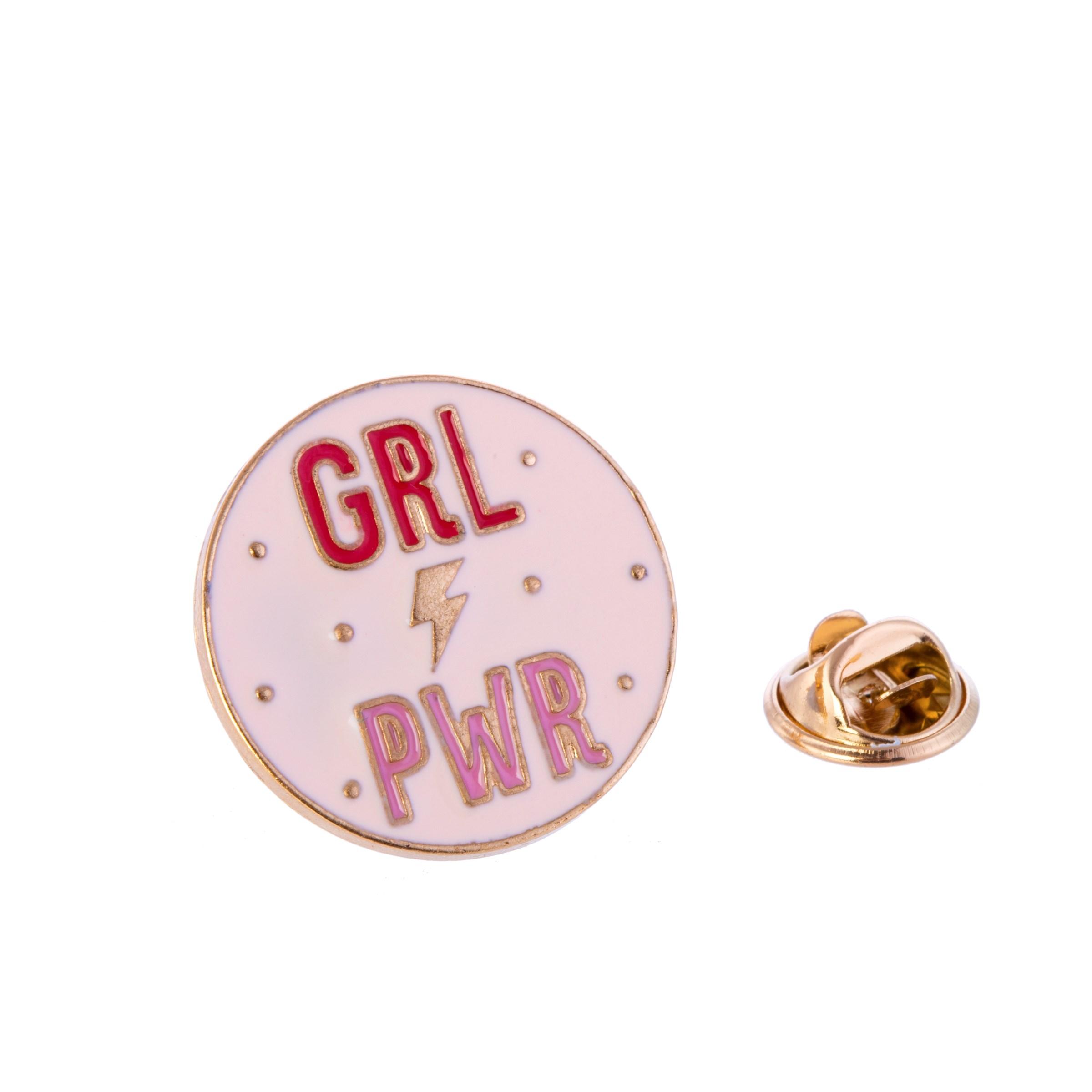 Girl Power Pin Badge