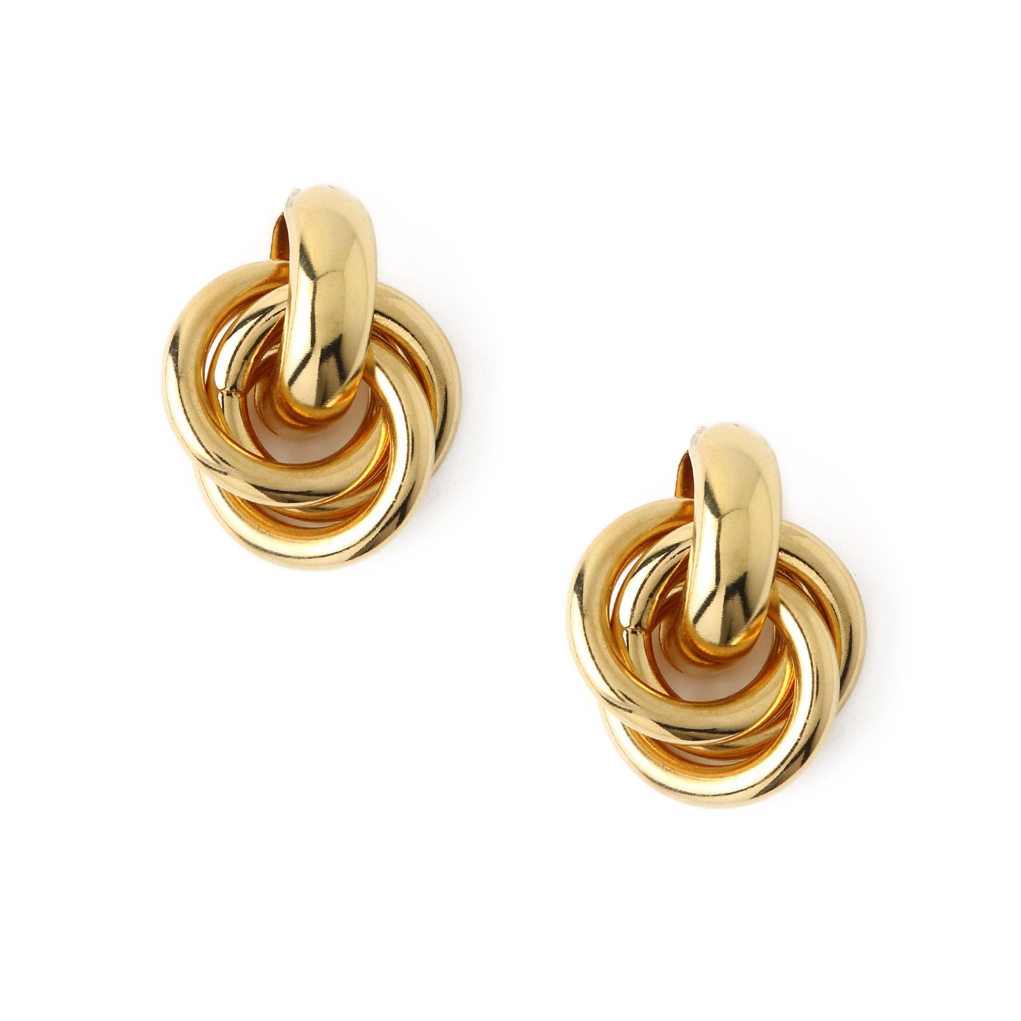 Statement Interlocking Earrings