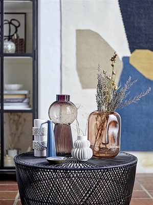 Large Ribbed Dome Vase