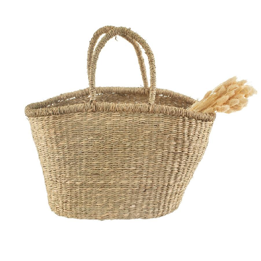 Woven Seagrass Shopper