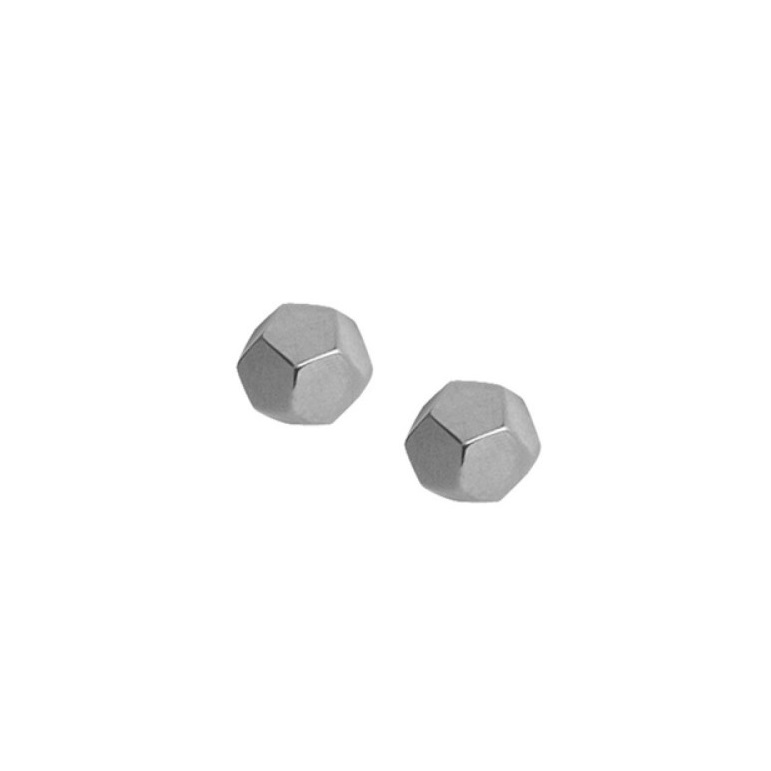 Dodecahedron Studs