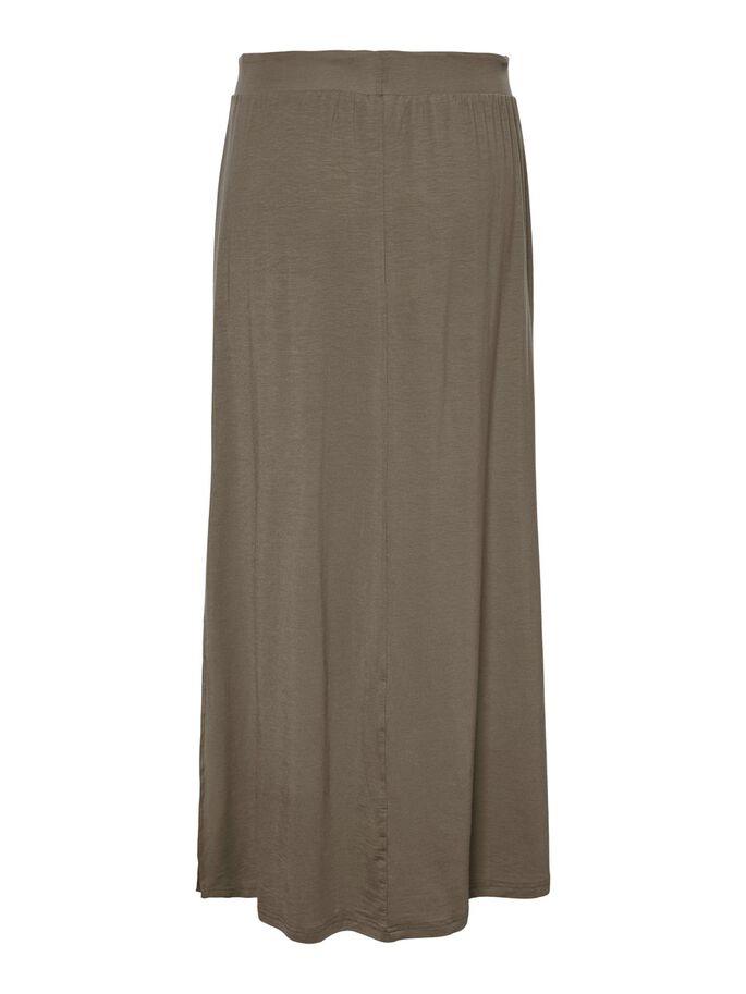 Ava maxi skirt khaki