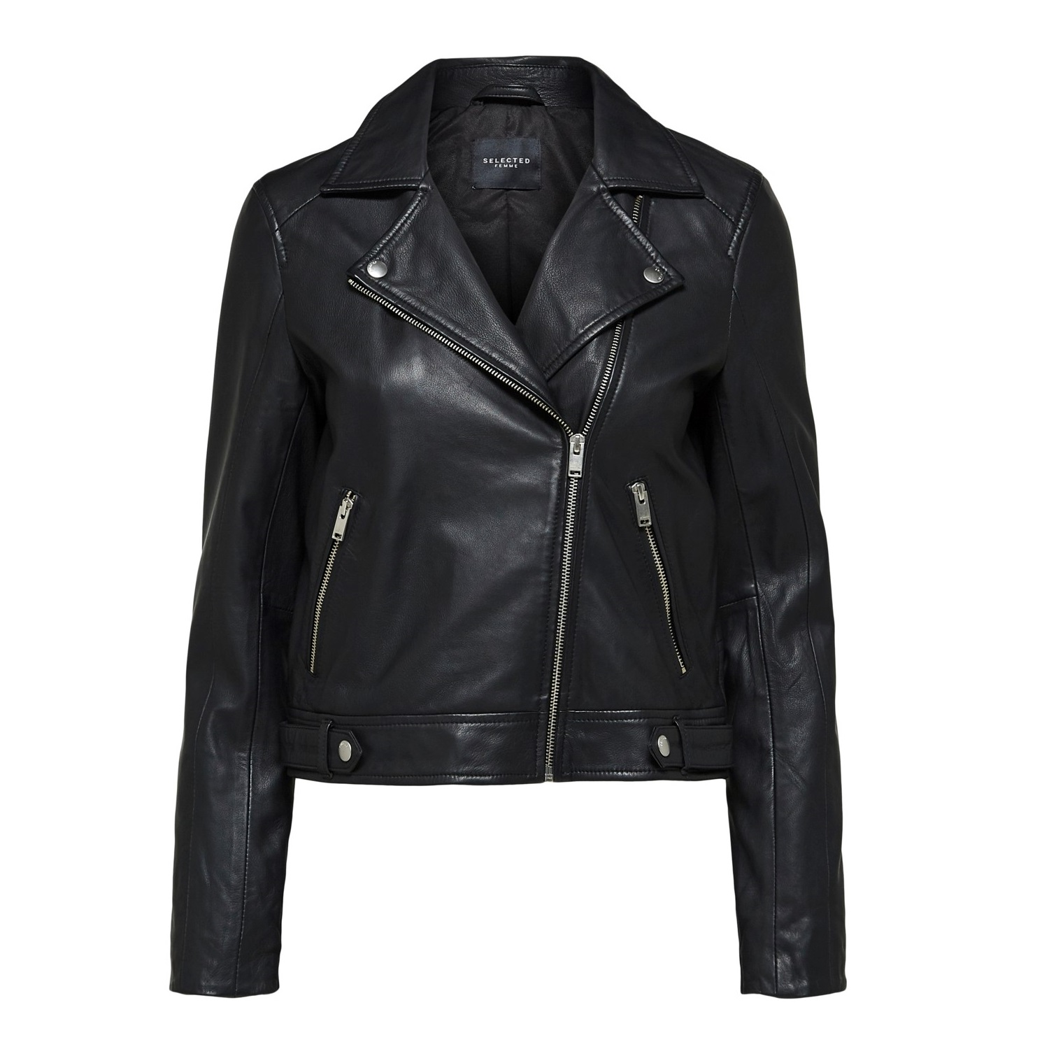 Katie Black Leather Jacket (pre order available)