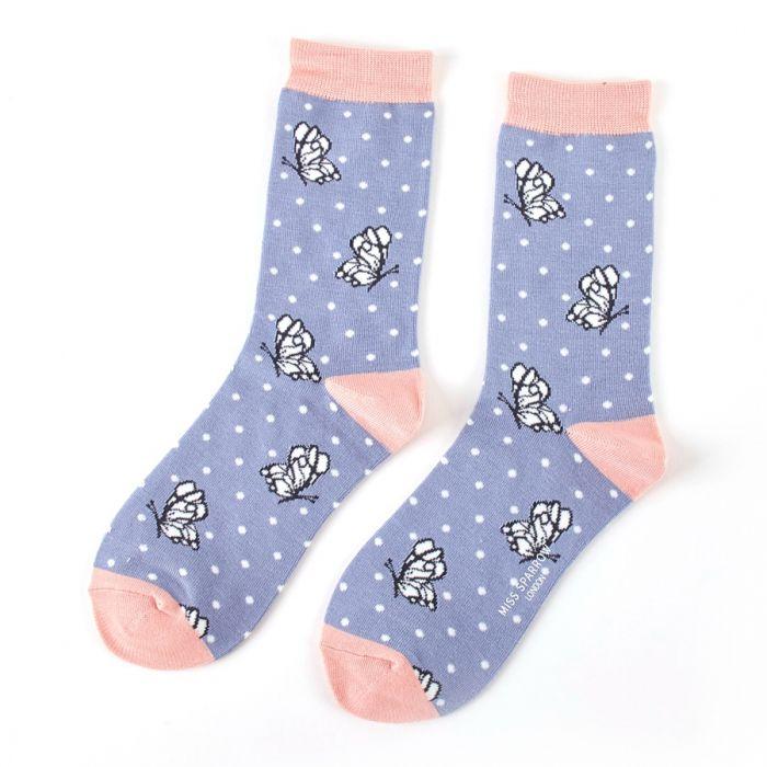 Butterfly Bamboo Socks
