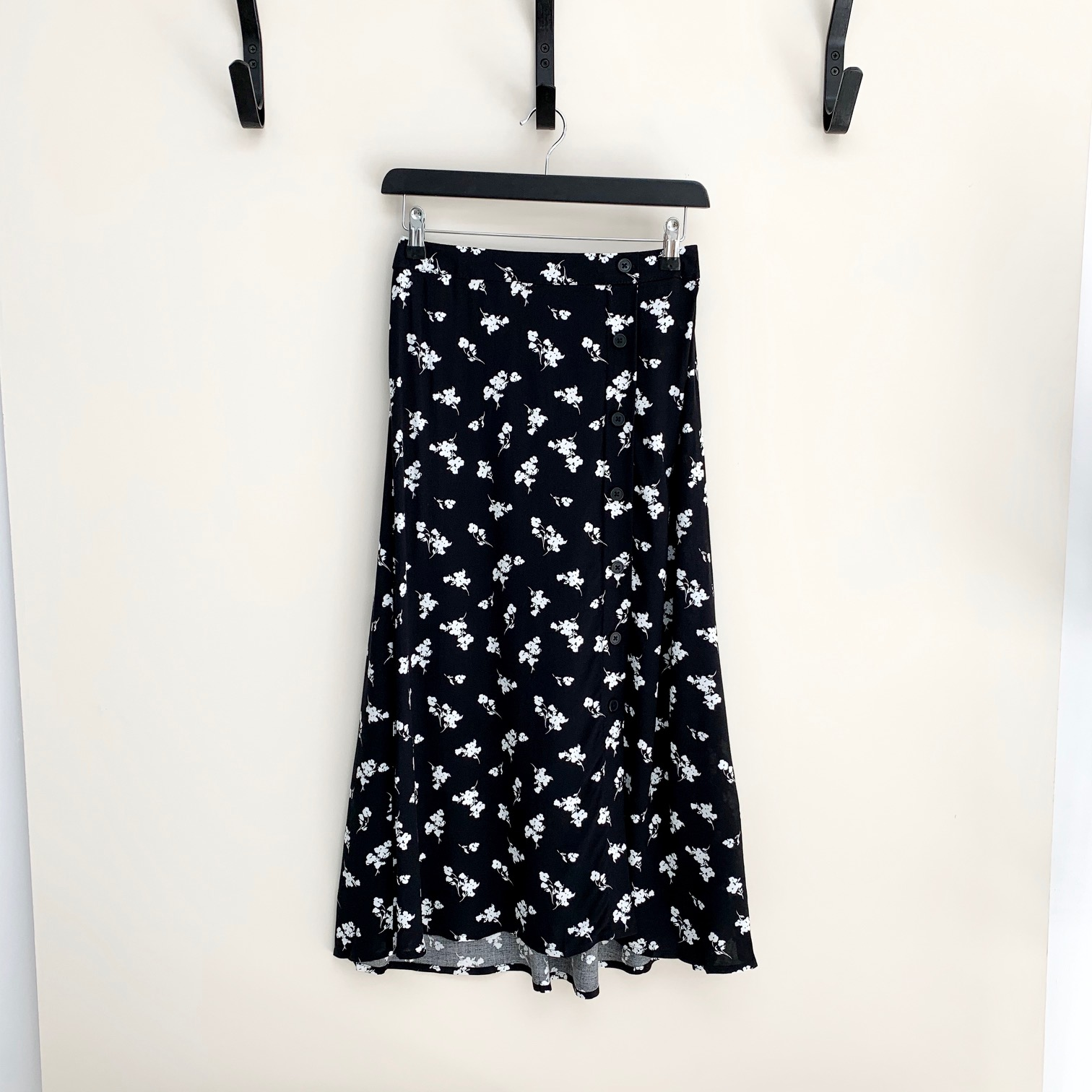 Floral Isole Midi Skirt