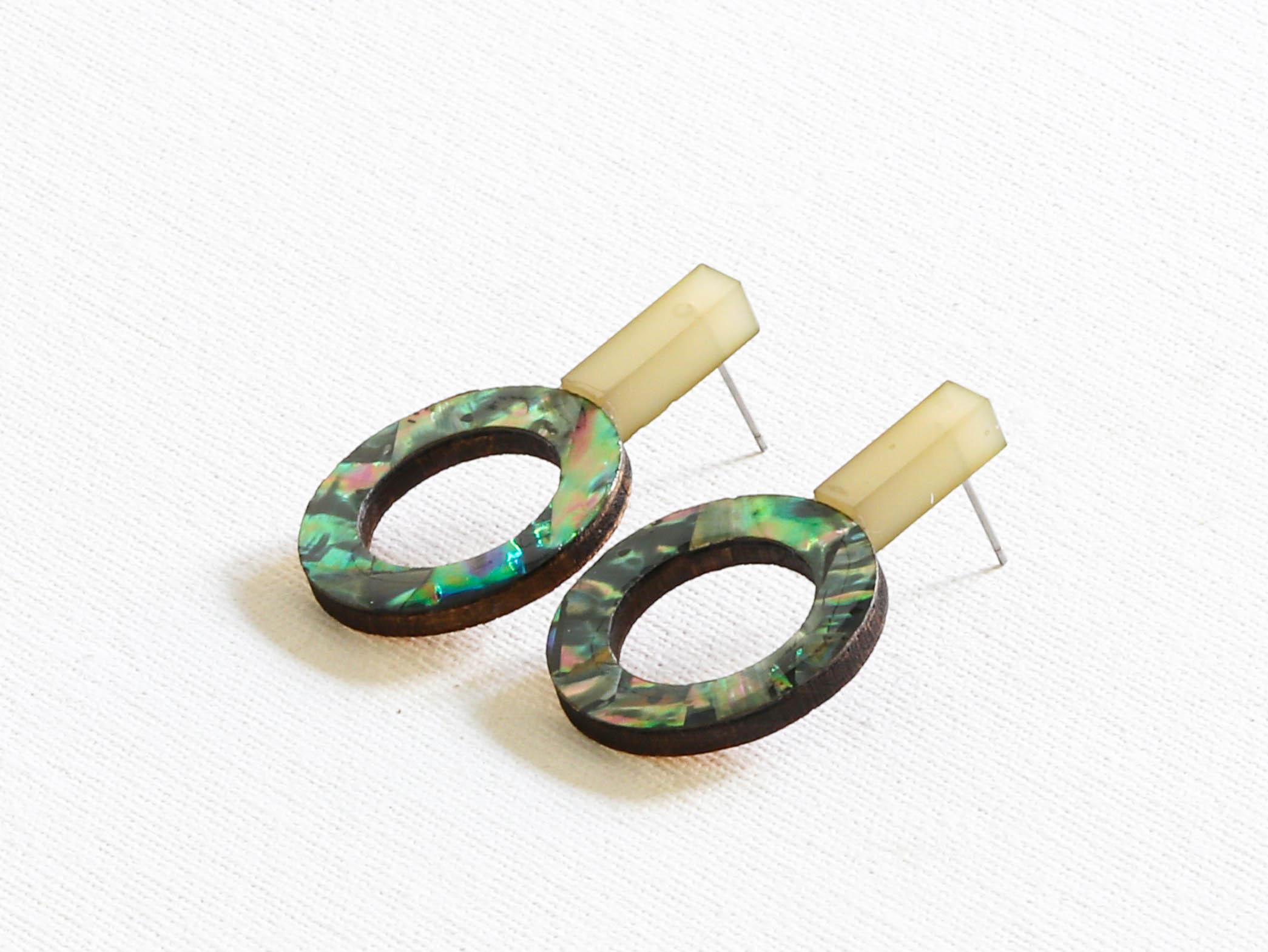 Cressida Shell Earrings