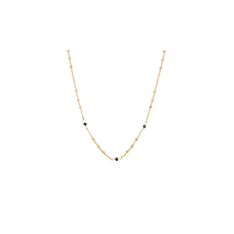 Mini Biba Chain  Black Diamond