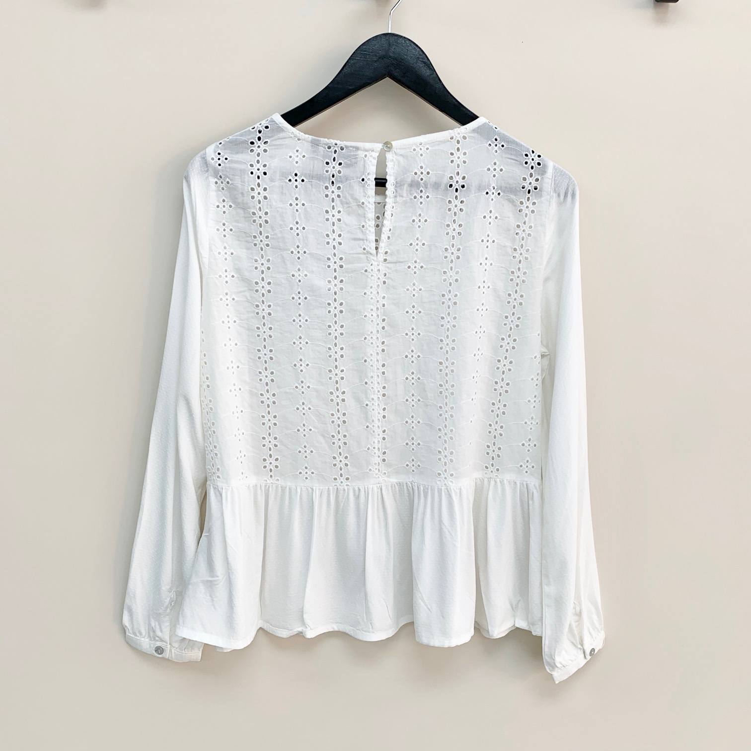 SALE Ivonne frill blouse