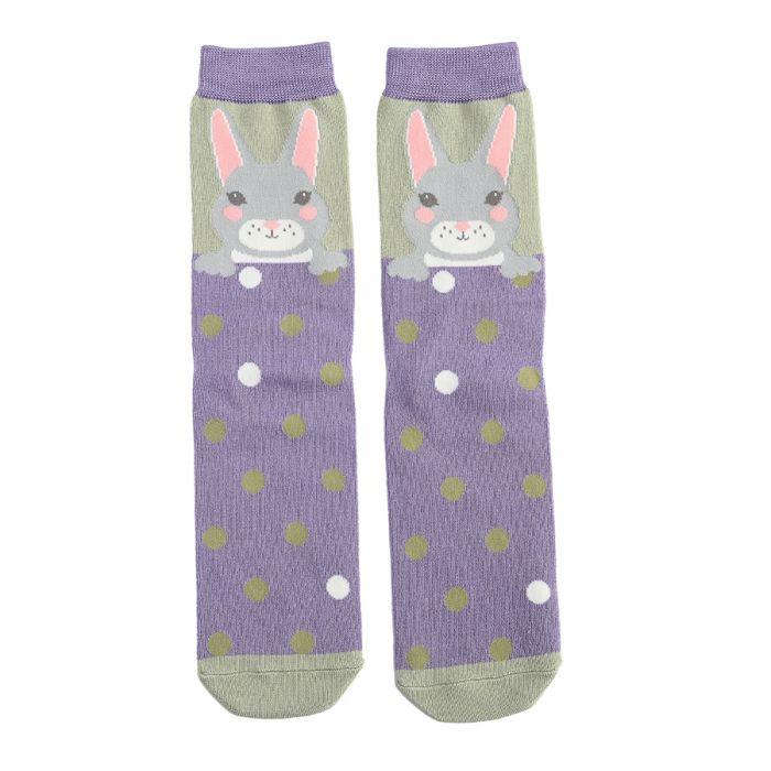 Bunny Socks Olive