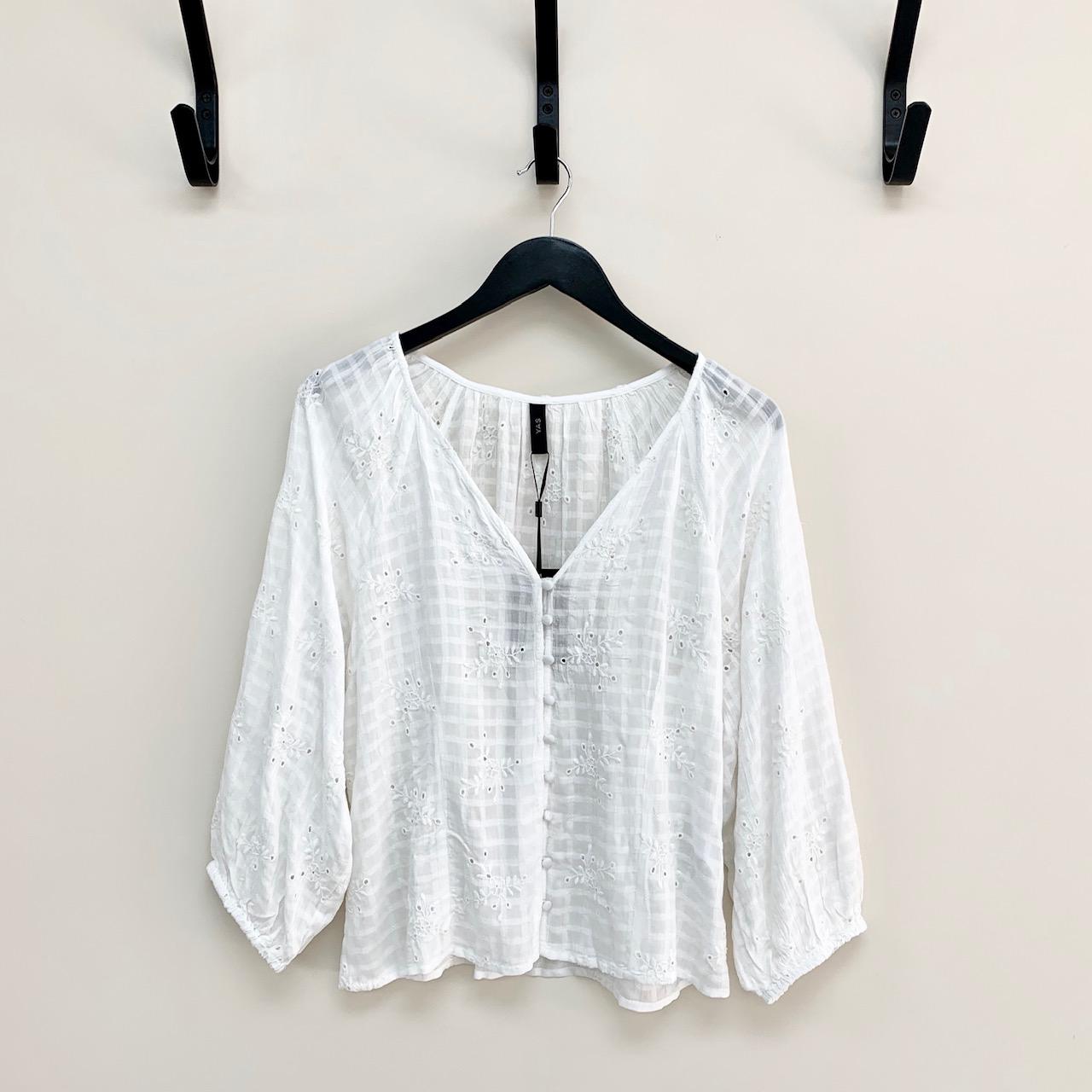 Manasha Embroidered Blouse