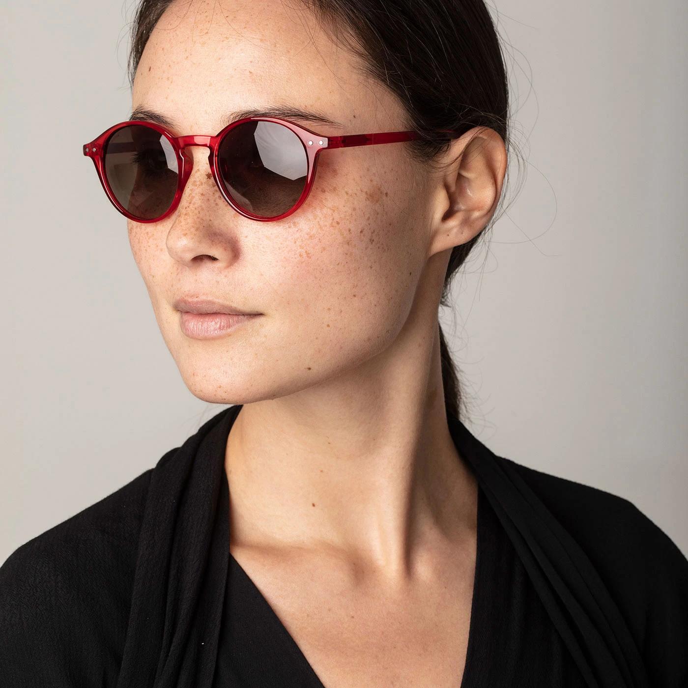 Roxanne Sunglasses Red