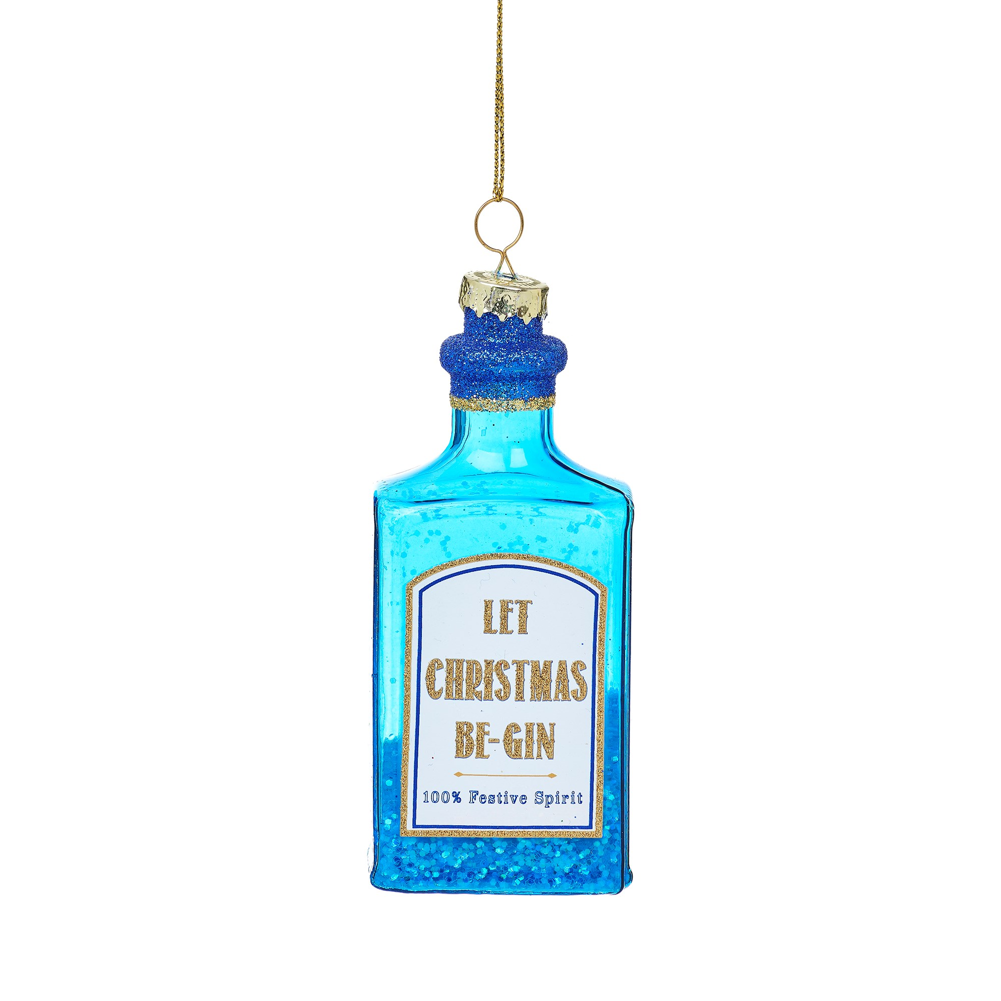 Let Christmas Be-Gin Blue