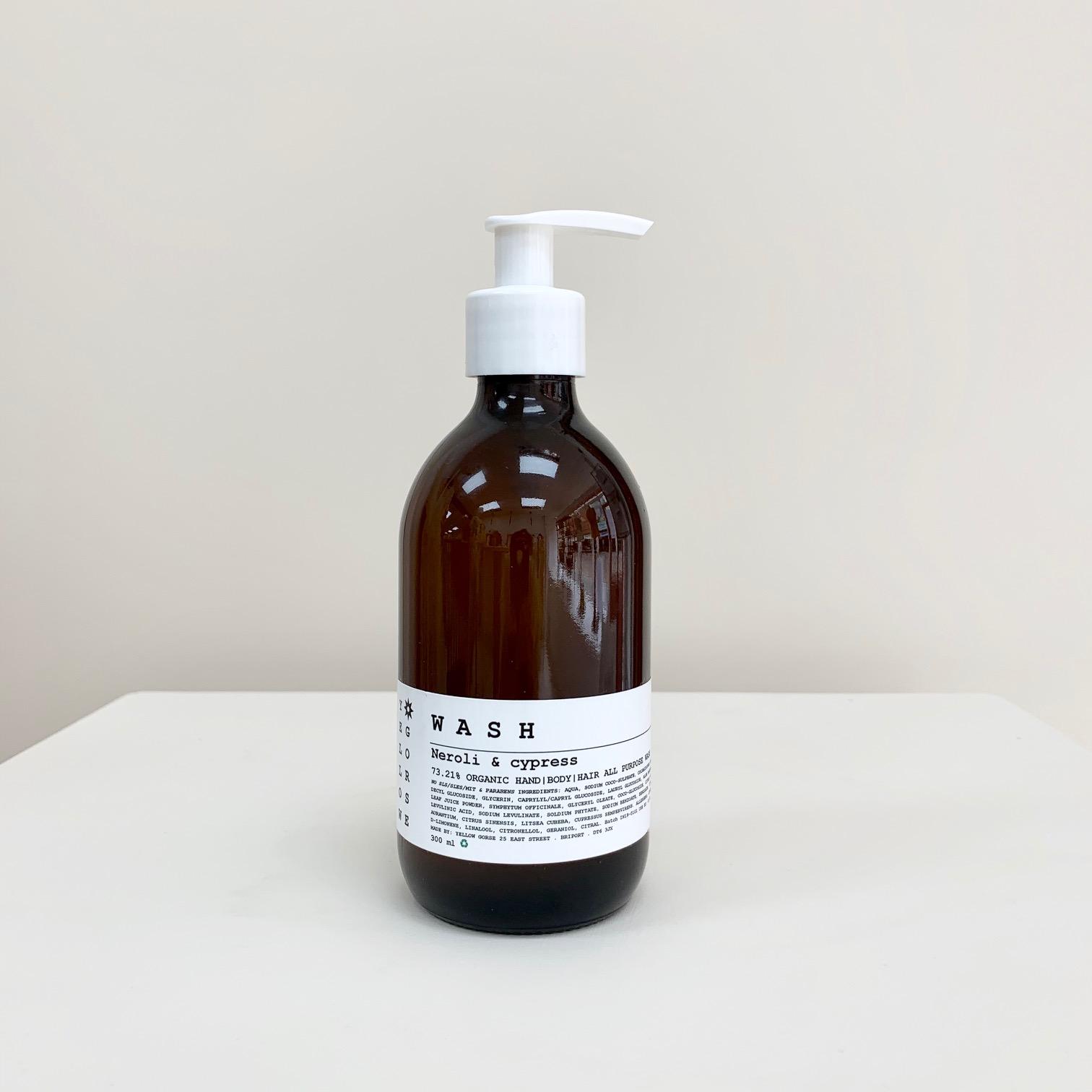 Neroli & Cyprus Organic Wash 300 ml