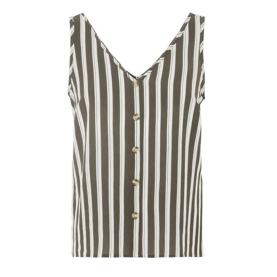 Sasha stripe sleeveless top