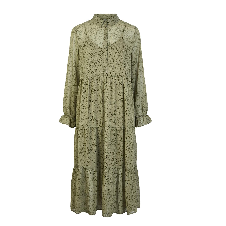 SALE Rya Midi Dress Green was £38