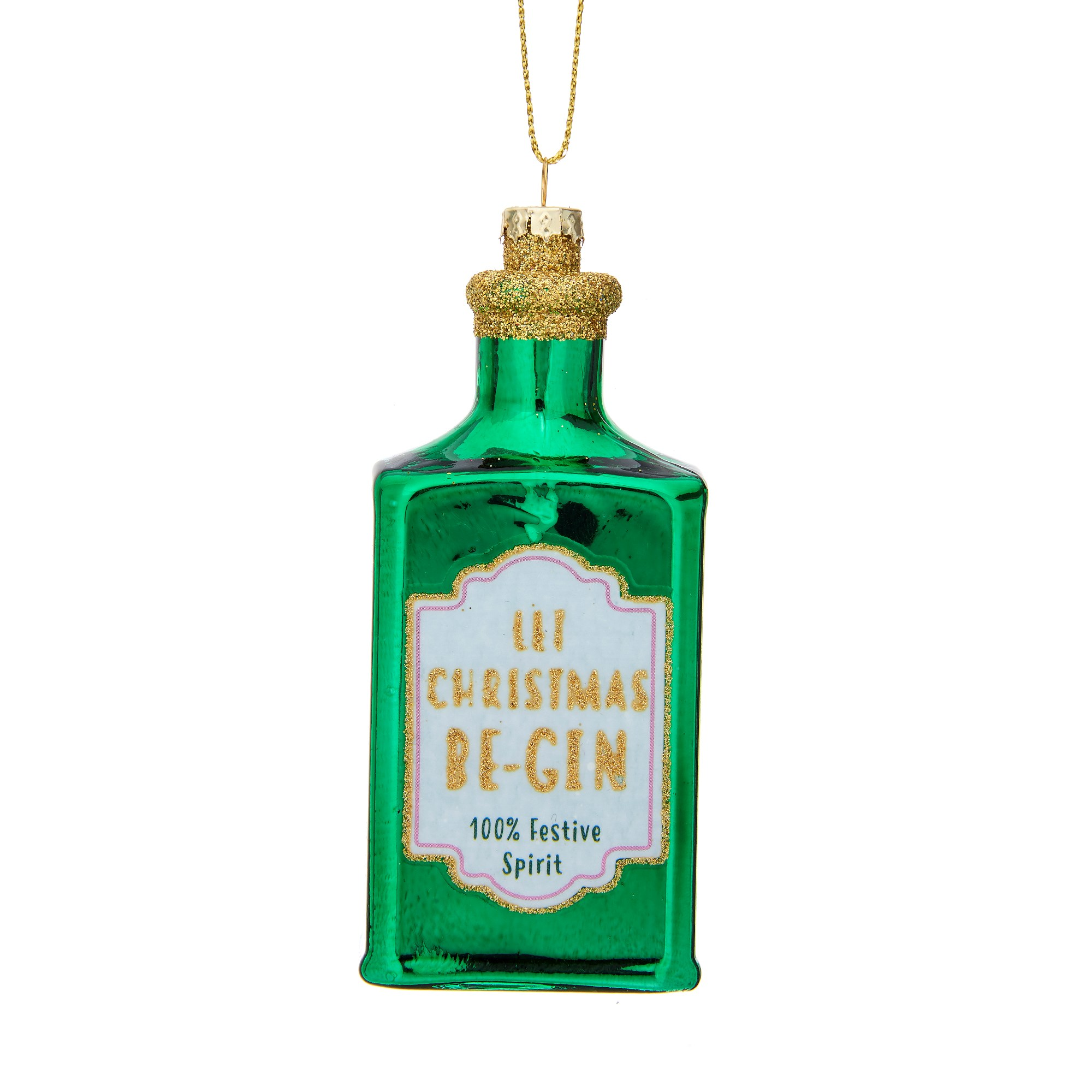 Let  Christmas Be-Gin Green