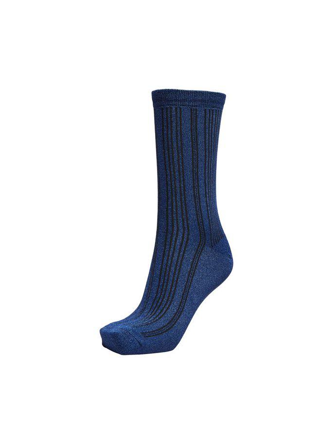 Blueprint Glitter Socks