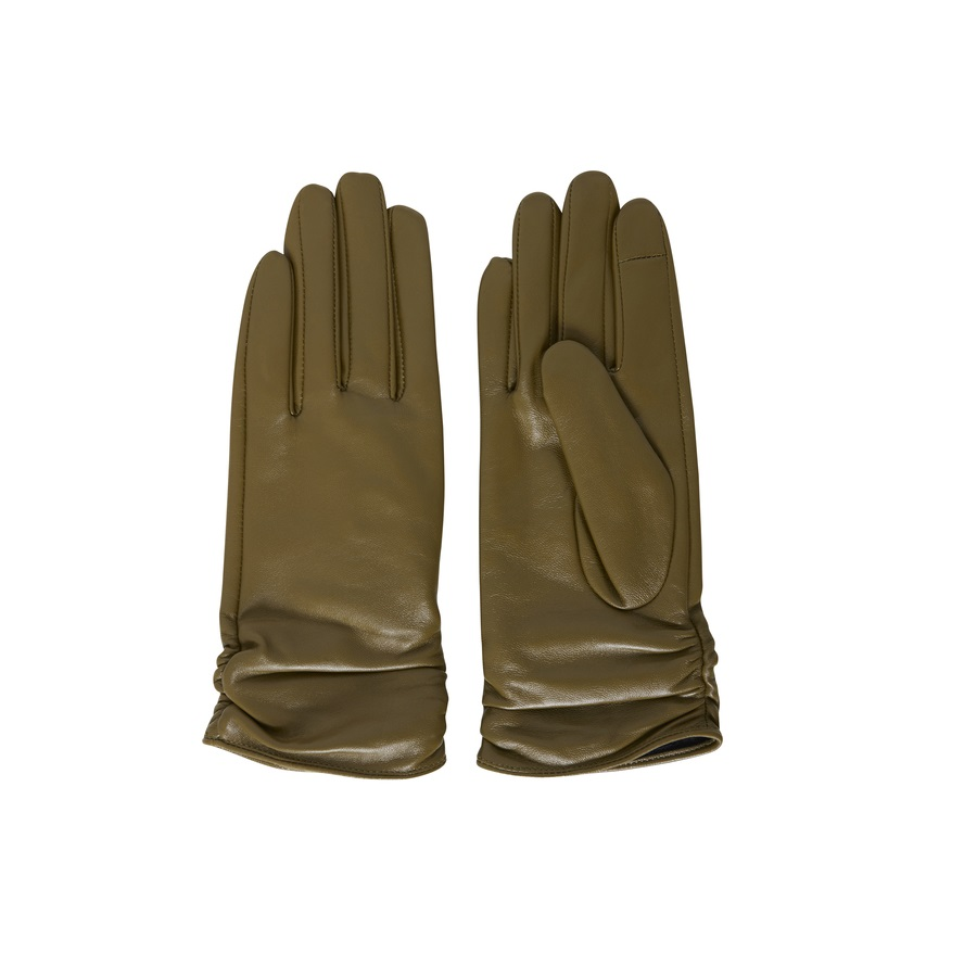 SALE Rush Fir Leather Green Glove  was £39.99