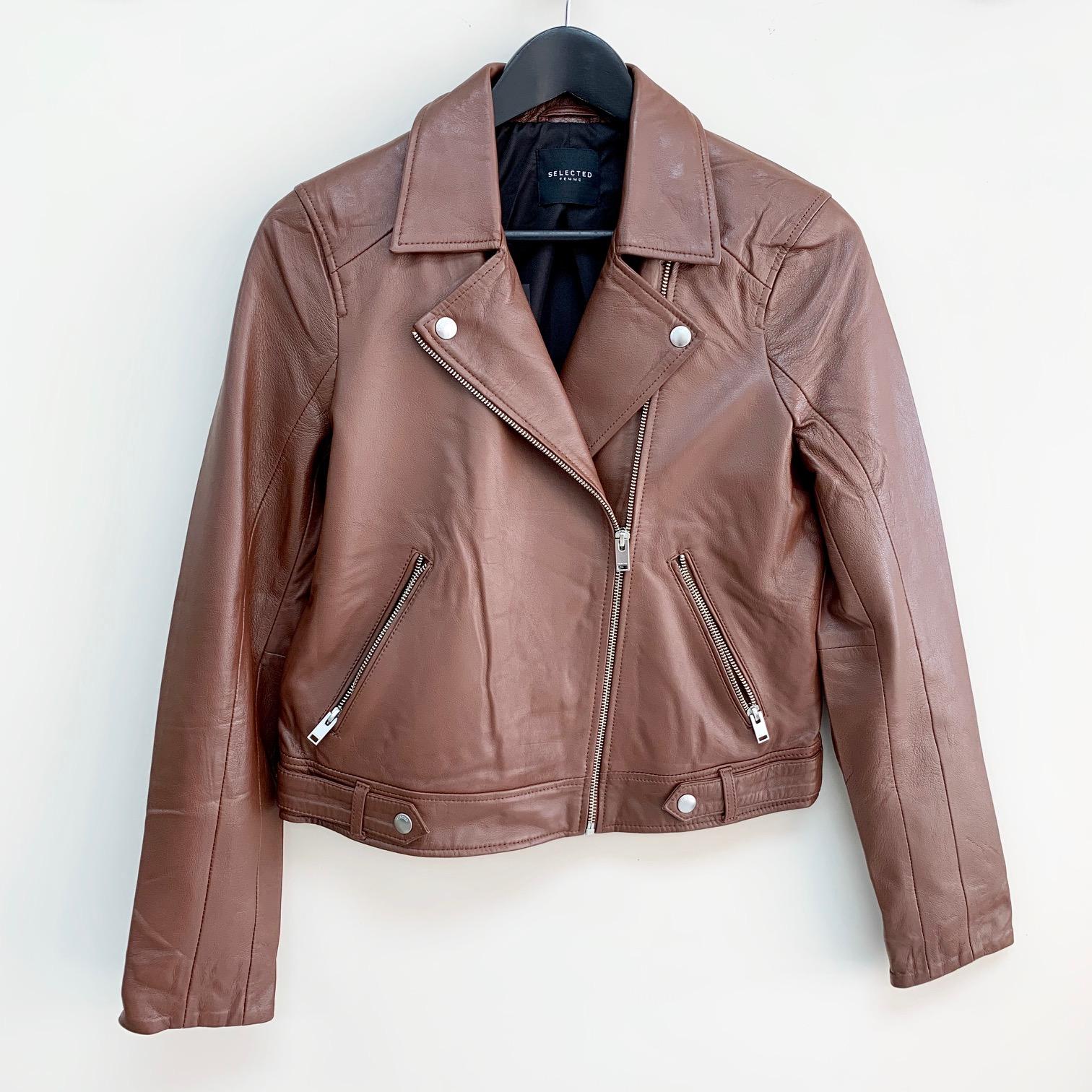 Katie Leather Jacket
