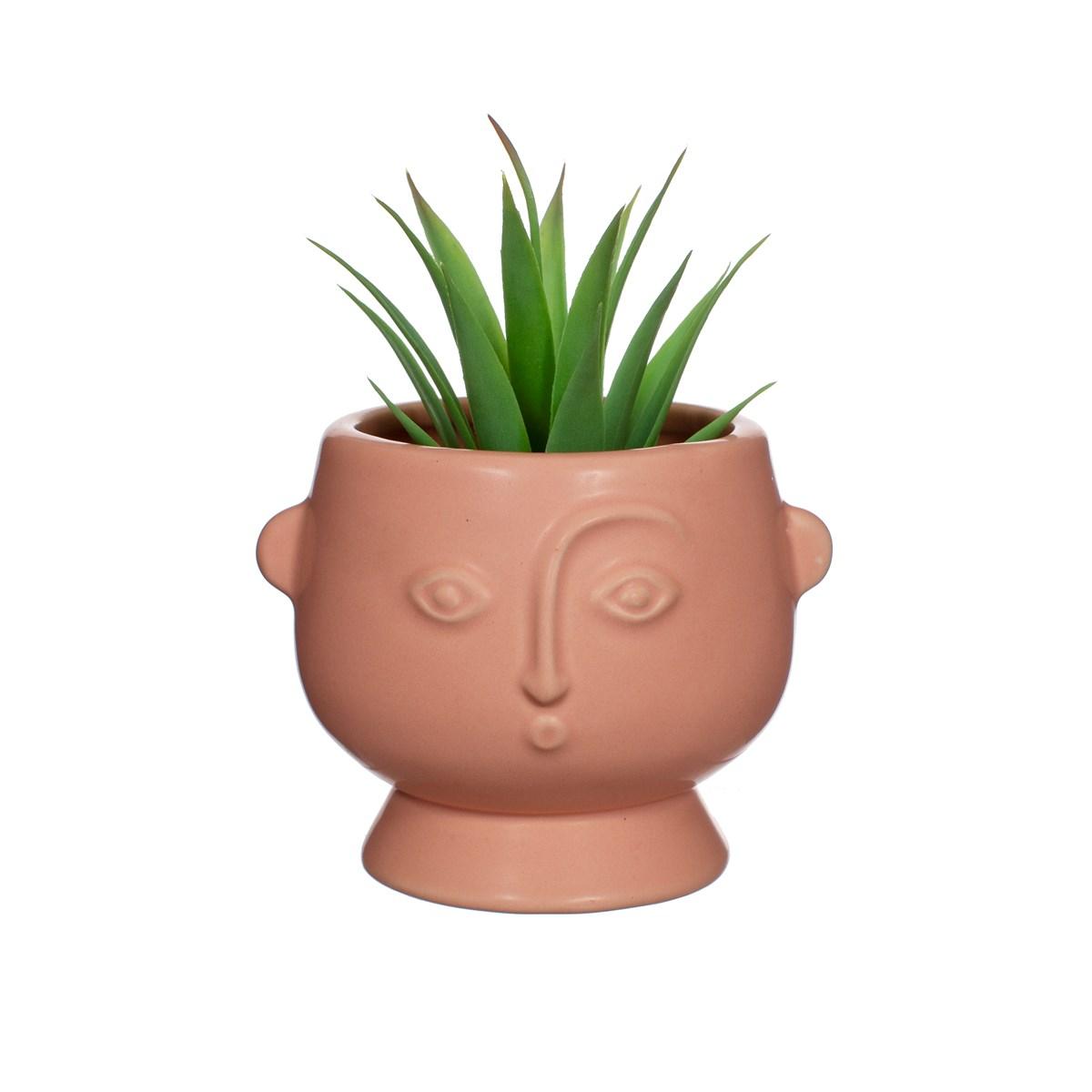 Mini Face Planter Matt Pink
