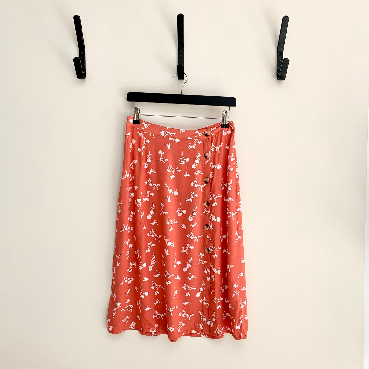 SALE Kaitlinn Floral Skirt